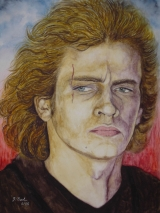 Anakin Skywalker 2 gespielt von Hayden Christensen in dem Film Star Wars III