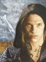 Jace Wayland gespielt von Jamie Campbell Bower in dem Film City of Bones