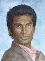 Gabe Lowen gespielt von Sendhil Ramamurthy in der Fernsehserie Beauty and the Beast