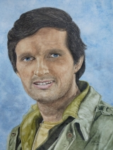 Alan Alda als Hawkeye Pierce in der Serie MASH