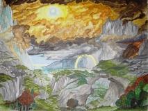 Sonne nach dem Regen Dezember 2004