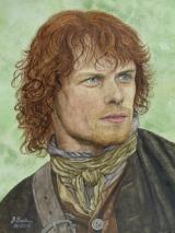 Jamie Fraser gespielt von Sam Heughan in der Serie Outlander