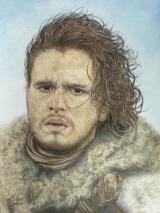 Jon Snow gespielt von Kit Harington in der Serie Game of Thrones