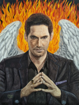 Lucifer-Morningstar gespielt von Tom Ellis in der Serie Lucifer